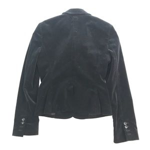 Express Jackets & Coats - Express Design Studio Black Velvet Blazer Sz 4